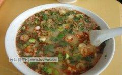 鲁山羊杂汤