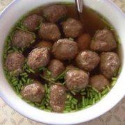 新疆牛肉丸子汤