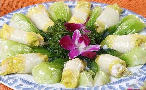 清蒸白菜卷